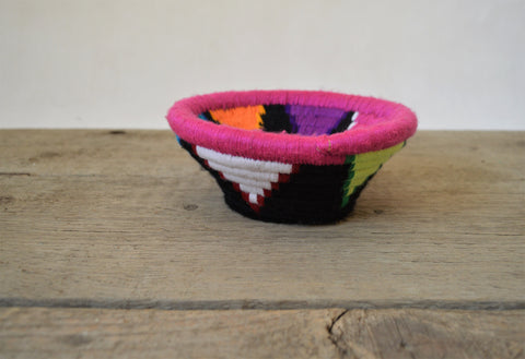 Wool plate, Woven bowl