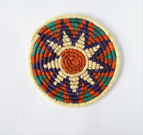 Nubian palm wicker  trivet