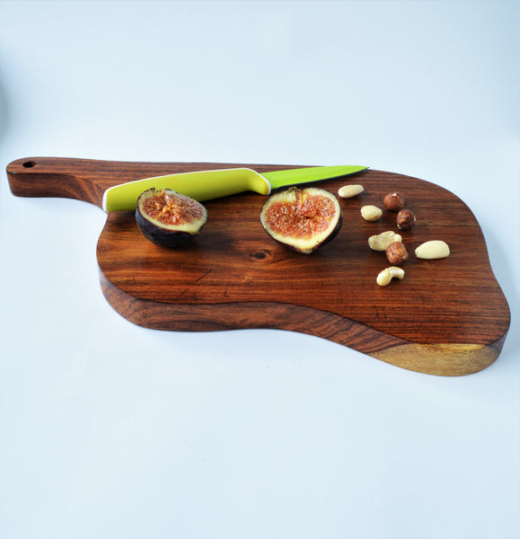 Rosewood Serving board Natural organic shape (one piece available)