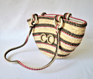 Girl bag, Summer straw bag