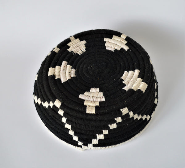 Traditional Egyptian wool palm fruit plate