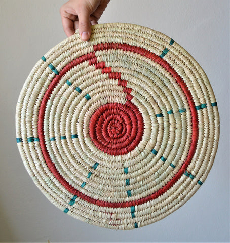 Colorful Kitchen straw Trivet