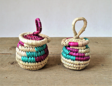 Small jewelry basket