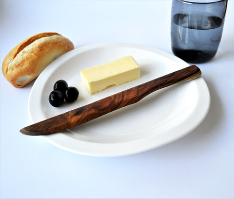 Rosewood butter knife