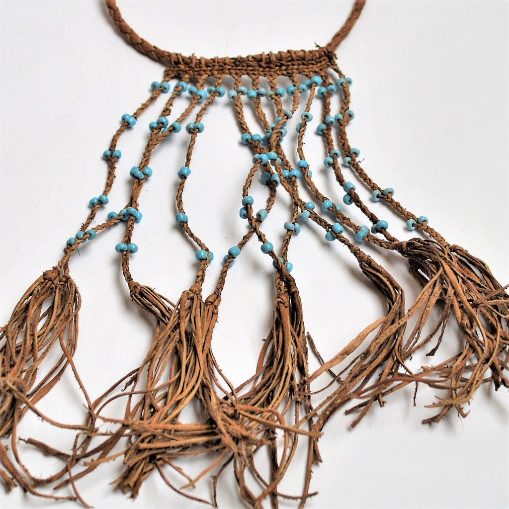 Nomad jewelry, Woman necklace Hippie style