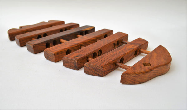 Wooden Fish Trivet (Expandable)