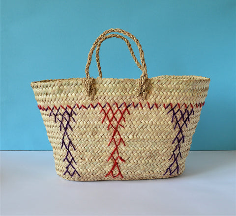 Traditional straw bag, Storage basket