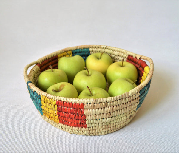 Fruit plate, Bread tray, Nubian colors