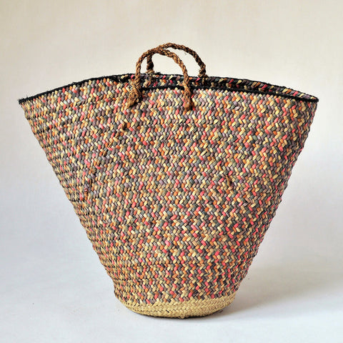 Vintage Nubian basket, Collectible basket