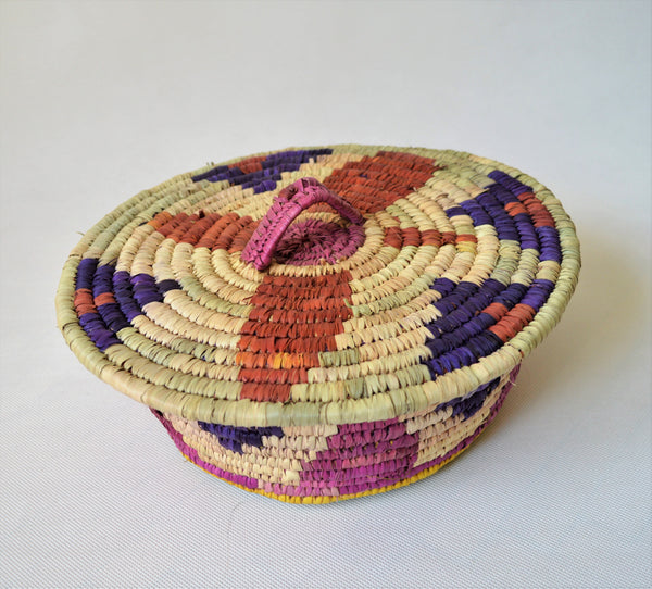 Palm Fruit basket, Nubian star
