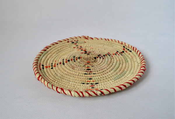 Decor wall plate, Decorative serving tray, African trivet