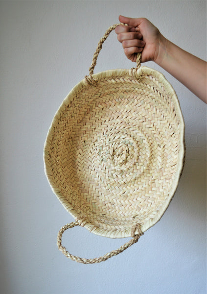 Braided round basket (Large)