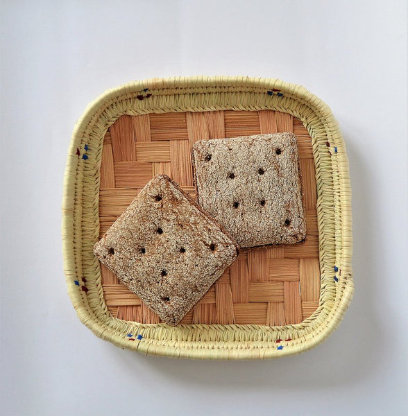 Bread platter, Square fruit platter