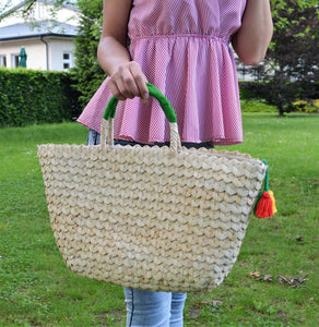 Big Summer handbag, Market Straw bag