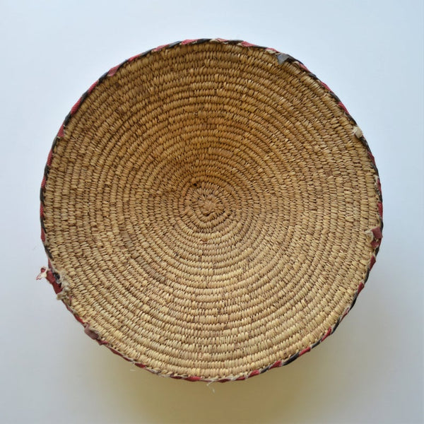 Vintage African basket From Egyptian Nubia