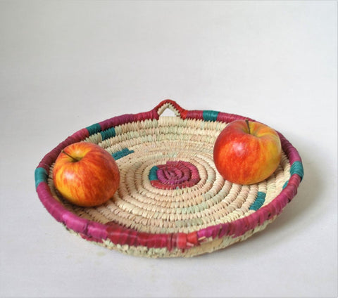 Round fruit platter (Green & Red)