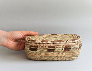 Big woven box for jewelry