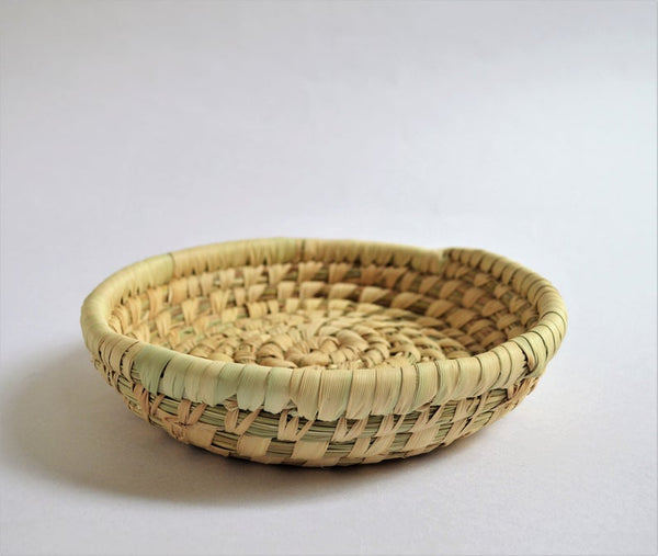 round woven platter from Fayoum