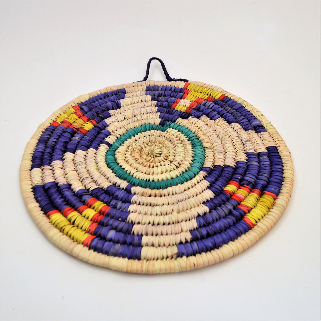 Nubian trivet, Palm wicker (Design 128)
