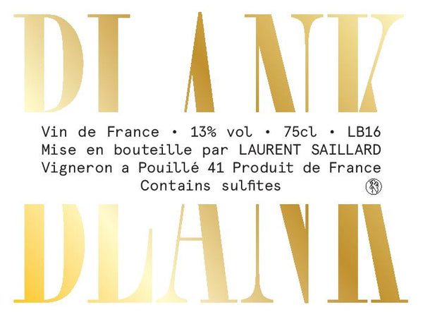 Laurent Saillard Blank, Sauvignon 2019