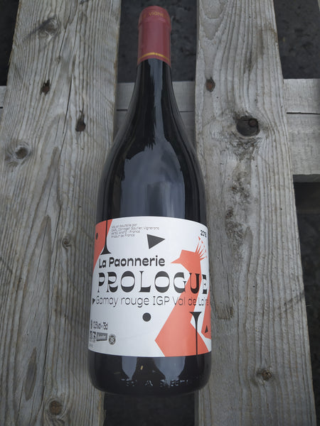La Paonnerie Prologue Gamay Rouge 2018