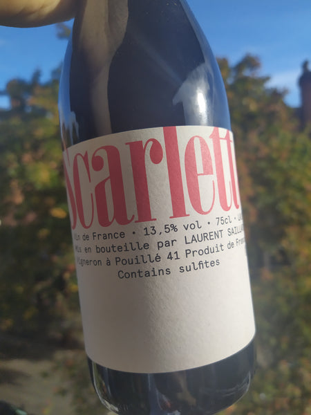 Laurent Saillard Scarlette Pineau d'Aunis 2019