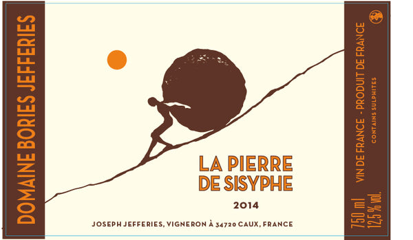 Les Bories Jefferies La Pierre De Sisyphe Rouge 2014