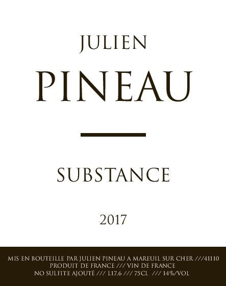 Julien Pineau Substance 2017