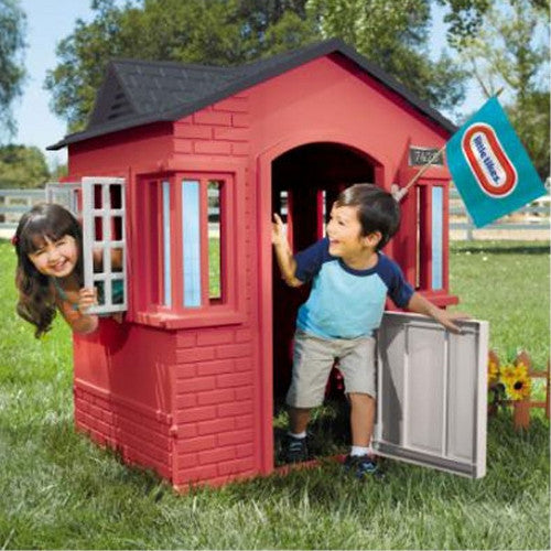 Little Tikes Red Cape Cottage Playhouse 638749 Kids Play Australia