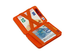 Porte-monnaie Magique RFID Cuir - Hunterson - Orange