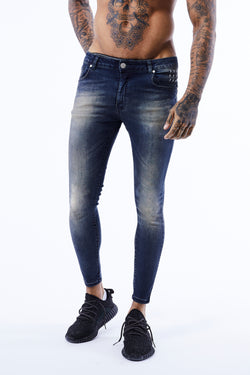 ESSENTIAL JEANS | SANDBLAST BLUE - Alive Denim, Rock n Roll Denim, Contemporary Denim Brand, Alive Denim Jeans Denim Jackets, Vintage T-Shirts and Vintage Hoodies