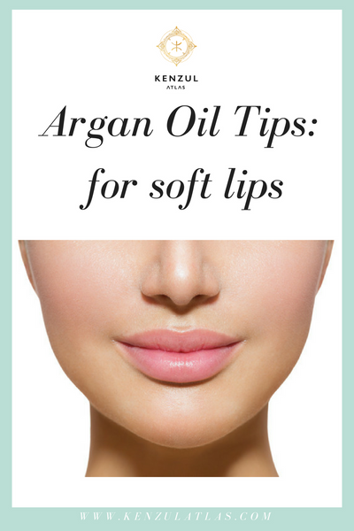 Argan Oil for Soft Lips