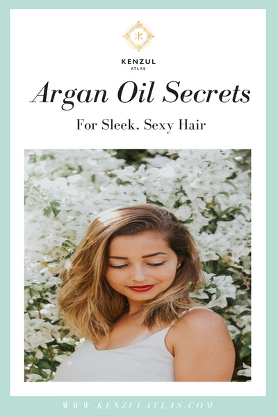 Argan Oil to reduce frizz