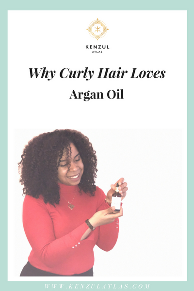 Why Argan Oil is great for Curly Hair