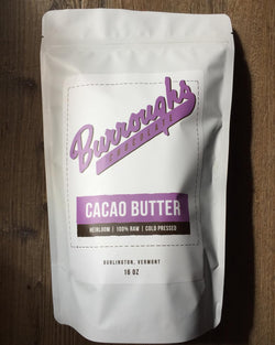 RAW HEIRLOOM CACAO BUTTER 1 LB BAG