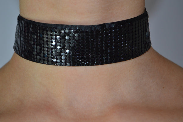 Shiny Thick Choker - Dash Posh Boutique