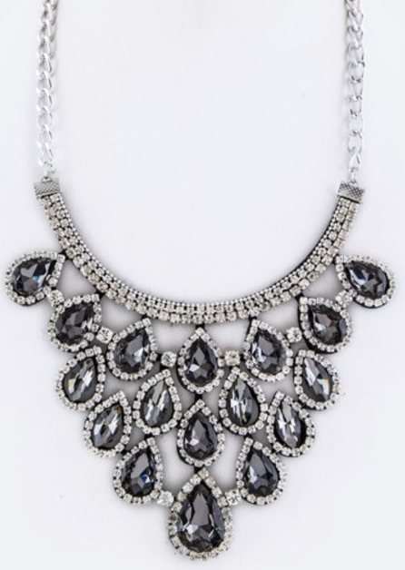 Teardrop Statement Necklace