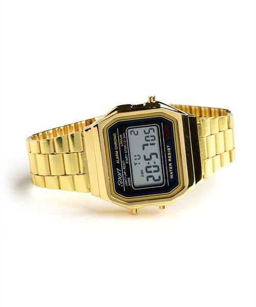 Digital Women's Watch Gold