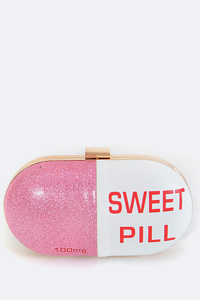Sweet Pill Box Clutch