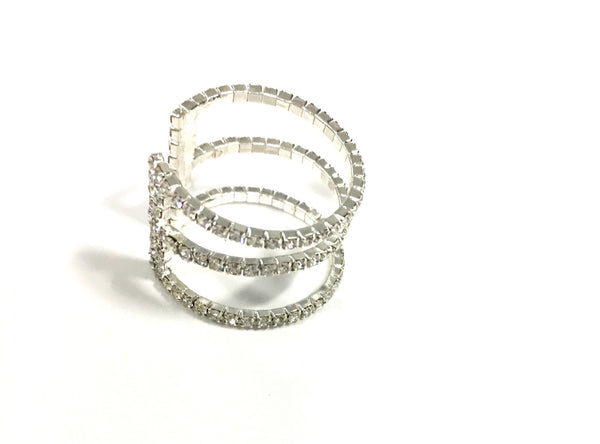 Crystal Stretchy Ring