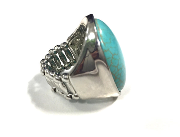 Stretch Turquoise Ring