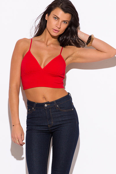 Bralette Party Crop Top