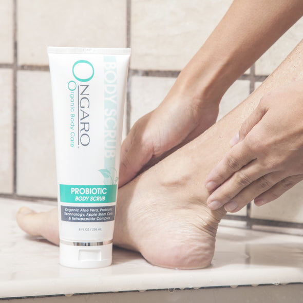 Probiotic Body Scrub | Ongaro Beauty 8oz Beauty Ongaro Beauty