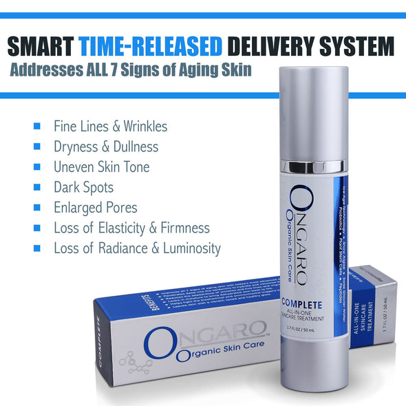 Complete All-In-One Skincare Treatment | Ongaro Beauty 1.7oz Beauty Ongaro Beauty