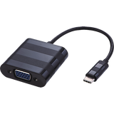 USB3.1c Male - VGA Female Black 20cm