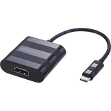 USB3.1c Male - HDMI Female 20cm Black
