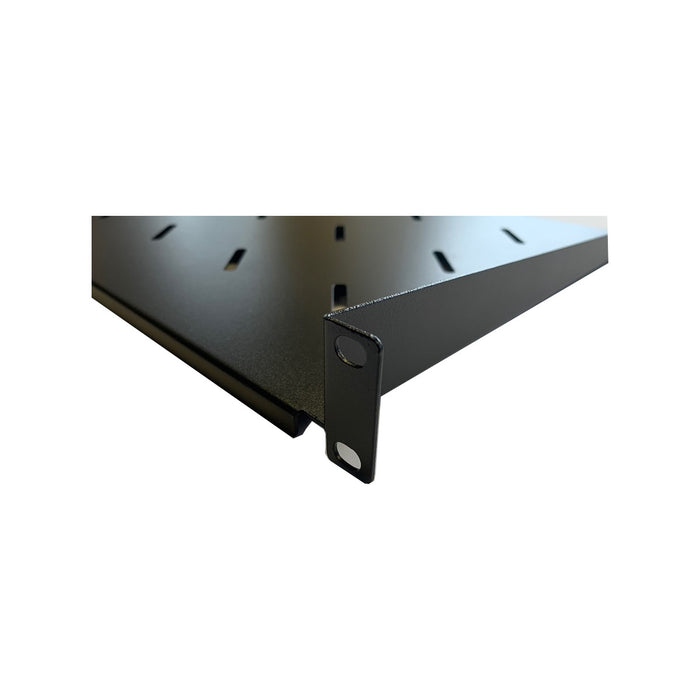 "1U 19"" Rack Cantilever Fixed Modem Shelf 300mm Deep"