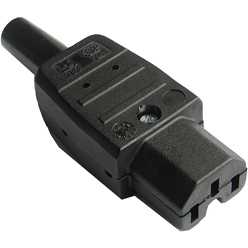 IEC C15 Female Rewireable Connector