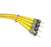 ST-ST Singlemode (9-125) Duplex Fibre Patch Lead - Datazonedirect