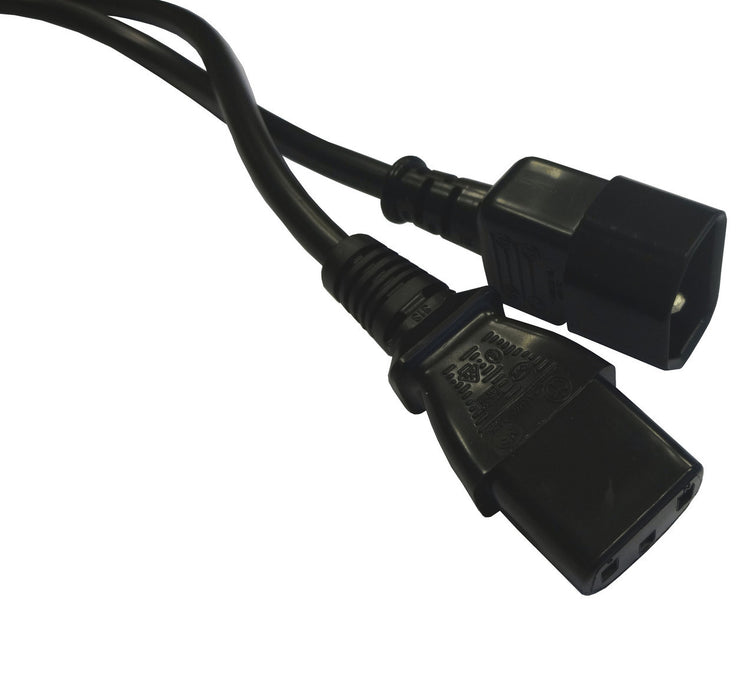 Datazone IEC Male (C14) - IEC Female (C13) Power Extension Cable